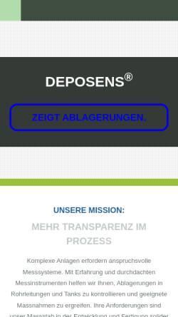 Vorschau der mobilen Webseite www.lagotec.de, LagoTec - Prof. Dr. Harald Horn, Dipl.-Ing. Daniel Goll und Dipl.-Ing. Lars Teichmann