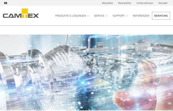 Vorschau von www.camtex.de, Camtex GmbH