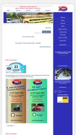 Vorschau der mobilen Webseite www.muscsuelfeld.de, Motor - und Sport - Club Sülfeld e.V.
