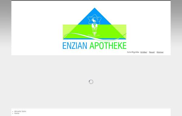 Vorschau von www.enzian-apotheke.de, Enzian Apotheke München