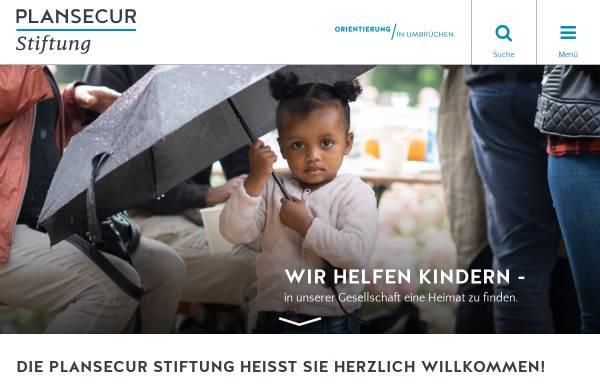 Vorschau von www.plansecur-stiftung.de, Plansecur-Stiftung