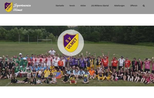 Vorschau von svulmet.de, Sportverein Ulmet 1919 e.V.