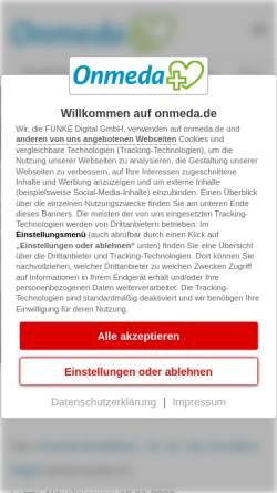 Vorschau der mobilen Webseite www.onmeda.de, Leukaemie - Onmeda: Medizin und Gesundheit
