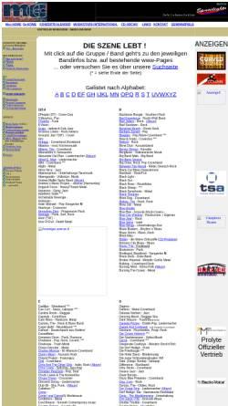 Vorschau der mobilen Webseite www.riegler.it, Südtiroler Musikszene - Bands und Livegruppen