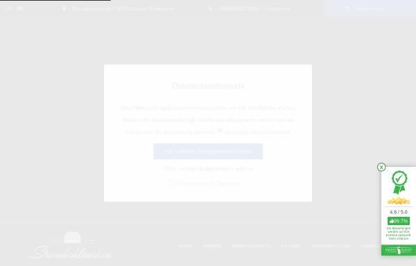 Vorschau von www.hotel-strandschloesschen.de, Hotel Strandschloesschen
