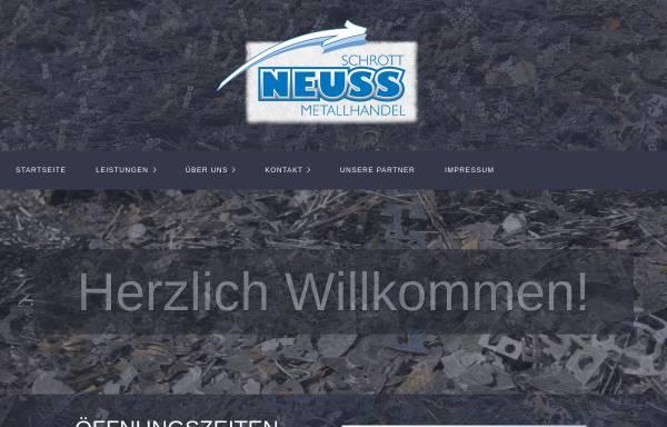 Müll Neuss wilhelm neuss metallhandel gmbh co kg in vaihingen enz metall