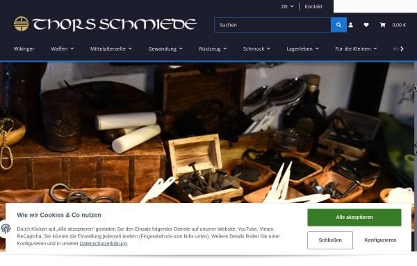 Vorschau von www.thorsschmiede.de, Liesegang GmbH