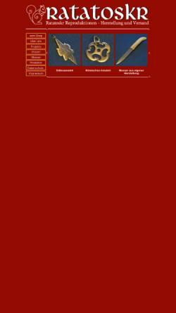 Vorschau der mobilen Webseite www.ratatoskr.de, Ratatoskr, Hartmut Wolfram