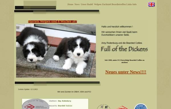 Vorschau von www.fullofthedickens.de, Full of the Dickens
