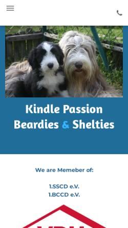Vorschau der mobilen Webseite www.kindle-passion.de, Kindle Passion