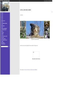 Vorschau der mobilen Webseite www.loyal-lads.de, Loyal Lads and Ladies