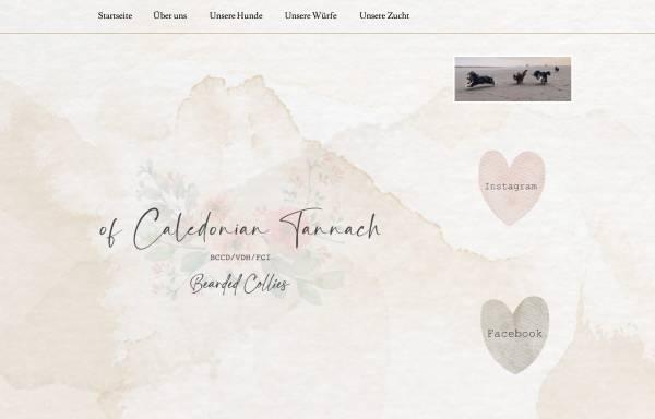 Vorschau von www.beardie.de, Of Caledonian Tannach