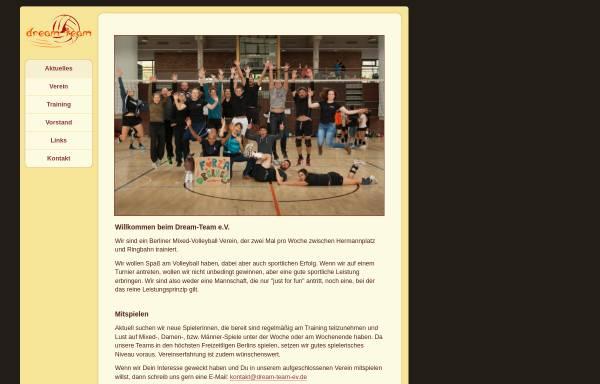 Vorschau von www.dream-team-ev.de, Dream-Team e.V.