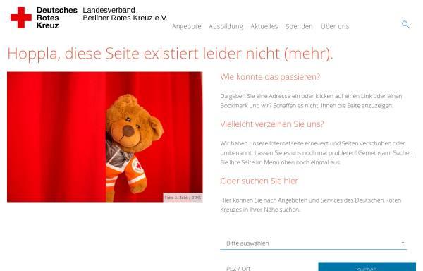 Vorschau von www.drk-berlin.de, Deutsches Rotes Kreuz - Fortbildungangebote