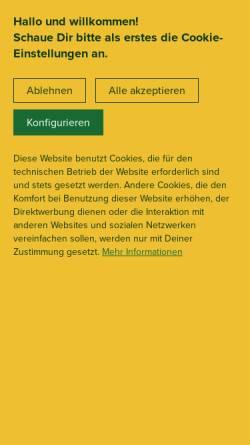 Vorschau der mobilen Webseite www.chillhouse.de, Chillhouse, Lietz & Reinhold GmbH