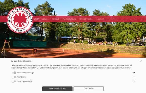Vorschau von www.scbrandenburgberlin.de, Sport-Club Brandenburg Berlin e.V.