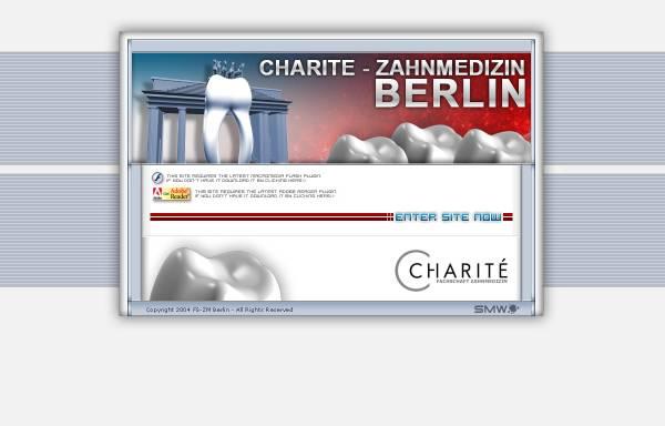 Vorschau von www.zm-berlin.de, Fachschaft Zahnmedizin der Universität Berlin