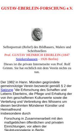 Vorschau der mobilen Webseite www.g-r-i-m-m.de, Eberlein, Gustav (1847-1926)