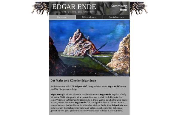 Vorschau von www.edgarende.de, Ende, Edgar (1901-1965)