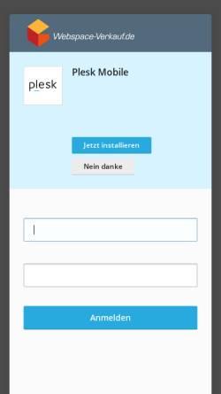 Vorschau der mobilen Webseite www.tiere-wissen.de, Tiere-Wissen.de