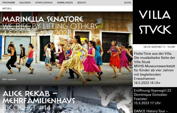 Vorschau von www.villastuck.de, Museum Villa Stuck