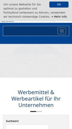 Vorschau der mobilen Webseite www.rahe-werbemittel.de, Rahe Kalender & Werbemittel-Service GbR