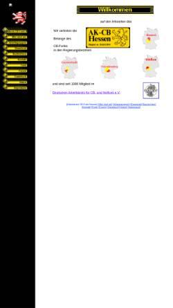 Vorschau der mobilen Webseite www.akcb-hessen.org, Arbeitskreis CB-Funk Hessen