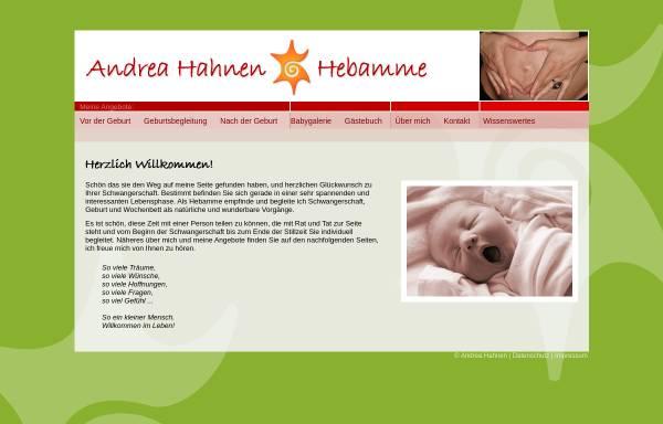 Vorschau von www.andrea-hahnen.de, Hahnen, Andrea