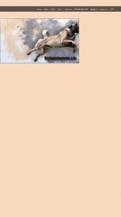 Vorschau der mobilen Webseite www.schutzhunde.ch, Basicdogs