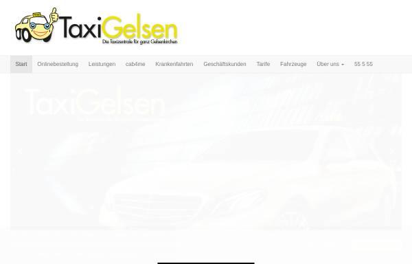 Vorschau von www.taxi-gelsen.de, Taxi Gelsen