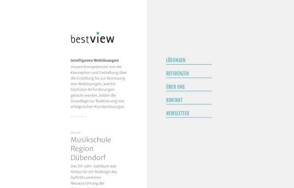 Vorschau von www.bestview.ch, Bestview GmbH