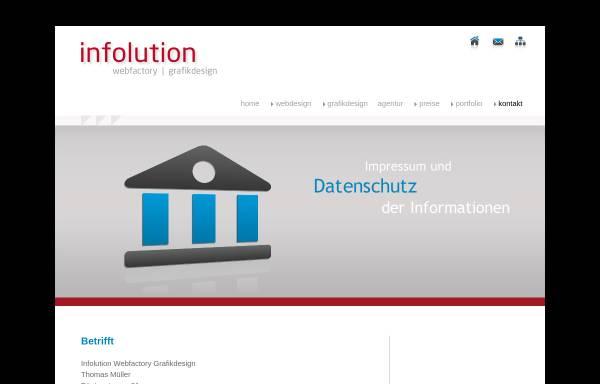 Vorschau von www.info-lution.ch, Infolution Thomas Mueller