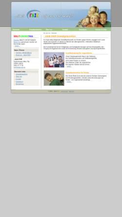Vorschau der mobilen Webseite www.bleib-fair.de, Gewaltprävention und Konflikttraining in Lübeck