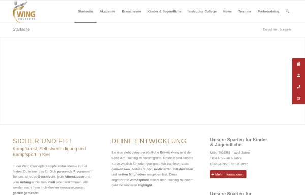 Vorschau von www.kiel-gewaltpraevention.de, Gewaltprävention-Schule Kiel