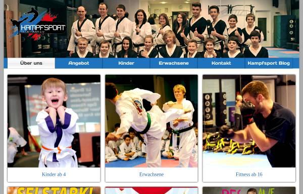 Vorschau von www.kampfsport-descy.de, Kampfsport-Schule Descy