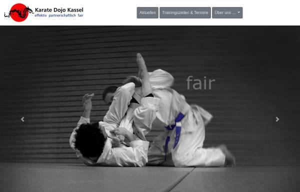 Vorschau von www.selbstverteidigung-kassel.de, Karate Dojo Kassel