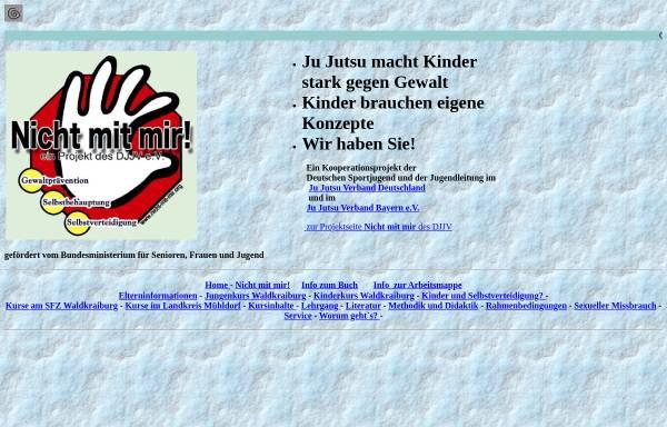 Vorschau von www.annemarie-besold.de, Nicht mit mir! - Selbstverteidigung für Kinder