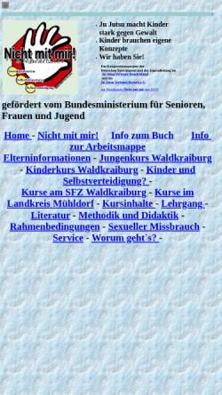 Vorschau der mobilen Webseite www.annemarie-besold.de, Nicht mit mir! - Selbstverteidigung für Kinder