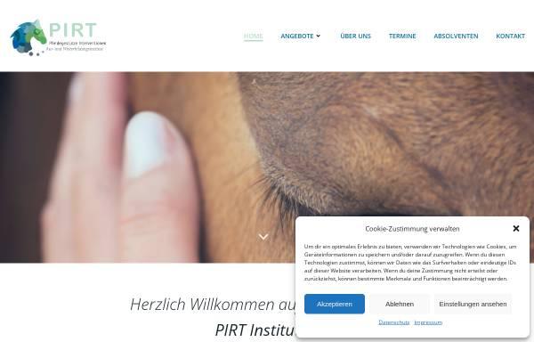 Vorschau von www.pirt-reittherapie.de, Plennschützer Institut für Reiten und Therapie [PIRT]