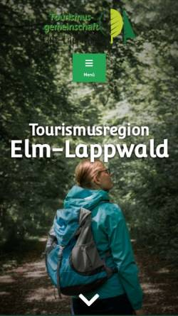 Vorschau der mobilen Webseite www.elm-lappwald.de, Naturpark Elm-Lappwald
