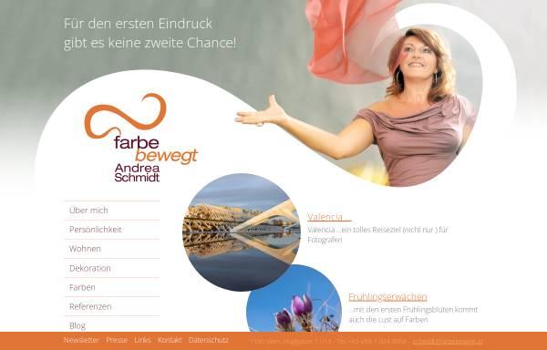 Vorschau von www.farbebewegt.at, Andrea Schmidt