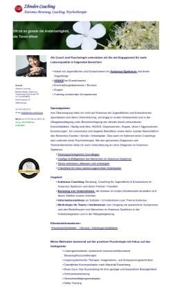 Vorschau der mobilen Webseite www.colours-lifestyle.ch, Colours & Lifestyle - Institut für ganzheitliche Beratungen, Inh. Mireille Zbinden-Salzmann