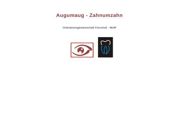 Vorschau von www.augumaug-zahnumzahn.at, Augumaug-Zahnumzahn