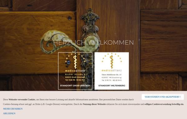 Vorschau von www.medicoallianz.de, Medicoallianz
