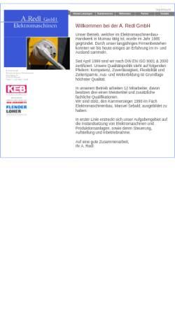 Vorschau der mobilen Webseite www.redl-gmbh.de, A. Redl GmbH
