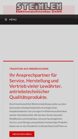 Vorschau der mobilen Webseite www.gebr-wittmann.de, Gebr. Wittmann GmbH