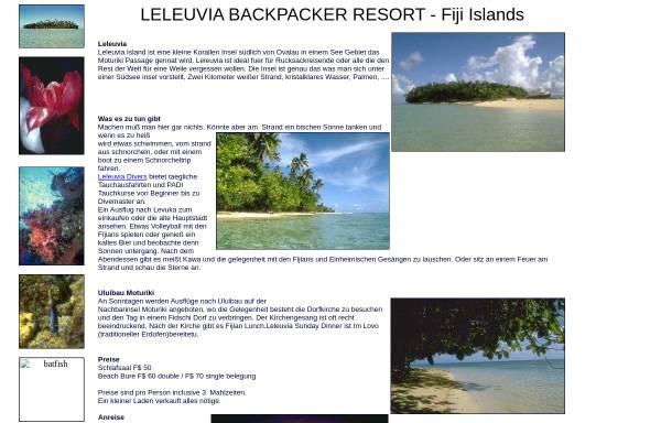 Vorschau von www.owlfiji.com, Leleuvia Island Resort, Fiji