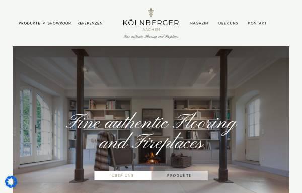 Vorschau von koelnberger.de, Kölnberger GmbH & Co. KG
