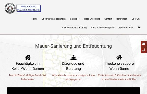 Vorschau von www.brugger-ag.ch, Brugger AG