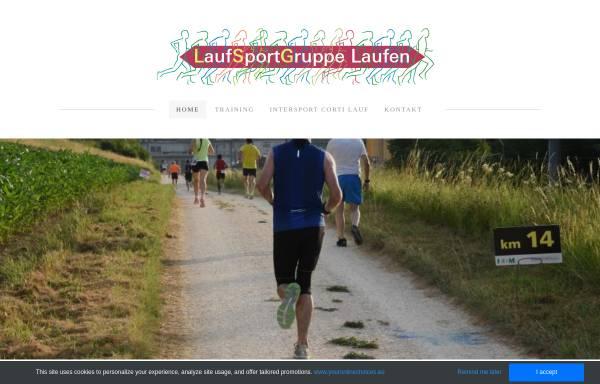 Vorschau von www.lsglaufen.ch, Laufsportgruppe Laufen